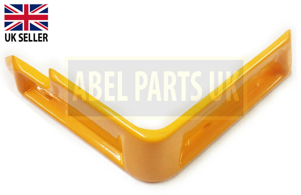 RIGHT HAND PIPE COVER(YELLOW) FOR 3CX, 4CX ETC. (PART NO. 123/06144)