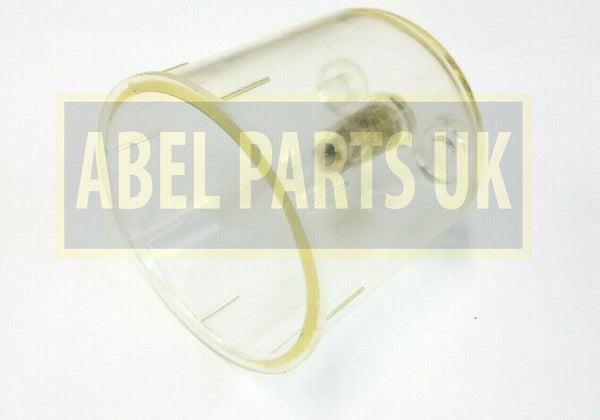 FUEL SEDIMENT FILTER BOWL FOR VARIOUS JCB MODELS (PART NO. 32/925568)