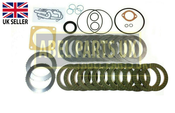 TRANSMISSION REPAIR KIT WITH PLATES,SEAL,GASKET (445/30011 455/12307)