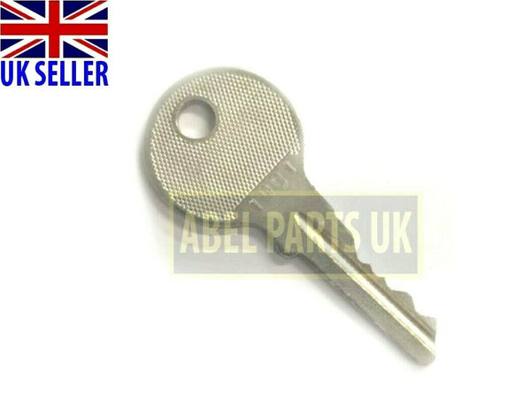 KEY FOR JCB FASTRAC 130,145,150, 3CX, ROBOT ECT (PART NO.122/06801)