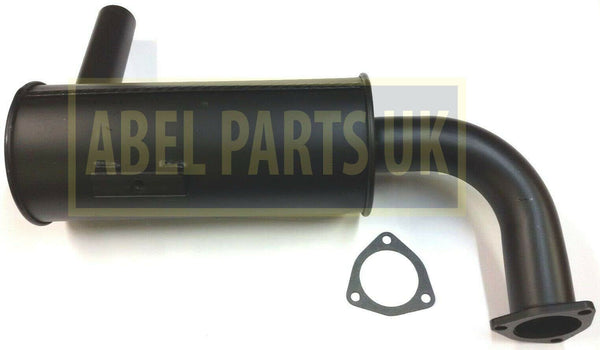 EXHAUST BOX SILENCER (PART NO. 122/01600) INCLUDES GASKET
