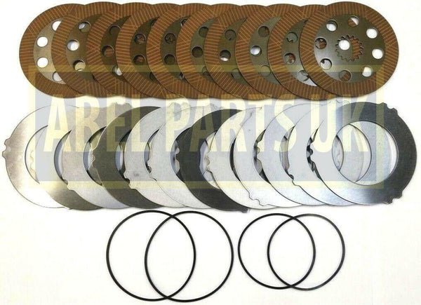 BRAKE PLATES AND SEALS SET FOR PROJECT 9 & 12 (458/20285 458/20353 450/10224 450/10219)