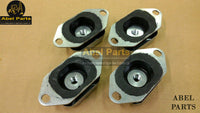 JCB MINI DIGGER ENGINE MOUNTINGS SET OF 4 PCS  (332/W1627 OR 232/39909)