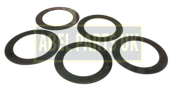 SHIM SET OF 5PC'S JCB PD70 LSD PD70 MAXTRAC (PART NO. 921/52100 X 5)