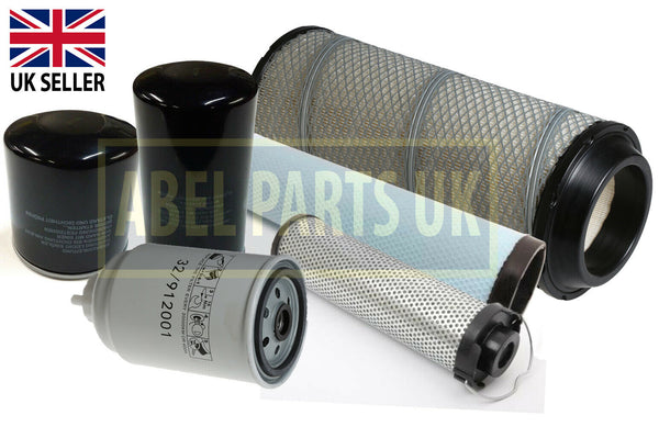 FILTER SERVICE KIT FOR PROJECT 12 TURBO ENGINE (32/917804, 32/917805, 32/913500, 02/100073)