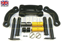 MINI DIGGER TIPPING LINK & DIPPER END PINS & BUSHES SET
