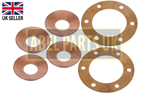 THRUST WASHERS FOR DIFF GEAR KIT (PART NO. 808/00209 x 2 808/00210 x 4)
