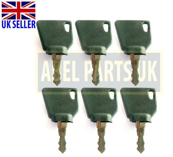 3CX - JCB IGNITION KEYS (6 PCS) (PART NO. 701/45501)