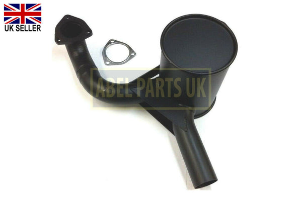 EXHAUST SILENCER NON TURBO (PART NO. 123/03964) INCLUDES GASKET