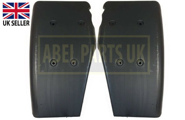 "FRONT RIGHT & LEFT FENDER MUDGUARD ""BLACK"" (123/03172 & 123/03171)"