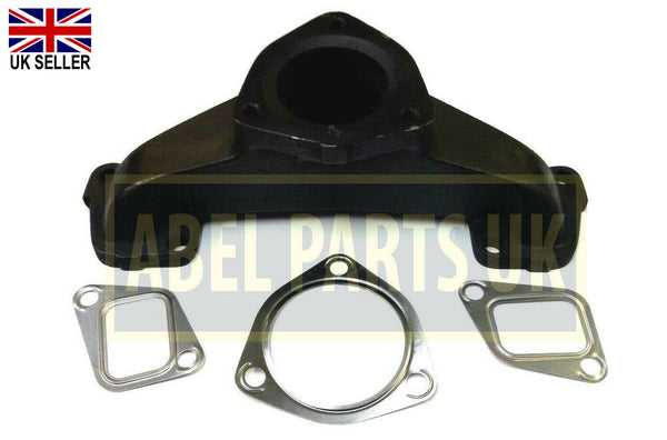 EXHAUST MANIFOLD + GASKETS FOR VARIOUS JCB MODELS ( PART NO. 02/200074)