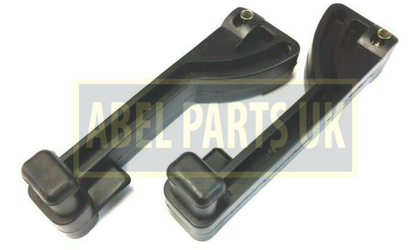 PAIR OF JCB 3CX SIDE WINDOW HANDLE (PART NO. 331/38532)