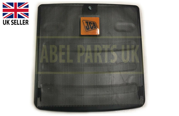 FRONT GRILLE WITH LOCK FOR VARIOUS JCB MODELS (PART NO. 335/08180)
