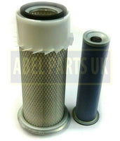 OUTER & INNER AIR FILTERS FOR NAT ASP PERKINS ENGINE (32/206002 32/206003)
