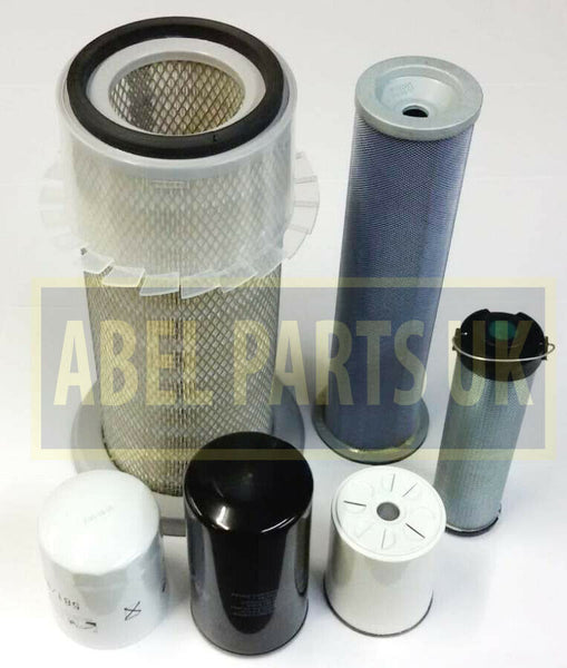 FILTER KIT P8 TURBO AB SN 430001 - 459999 FOR SNYCRO AND P/S TRANS
