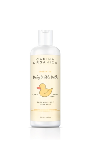 Baby Bubble Bath (Unscented) - Carina Organics