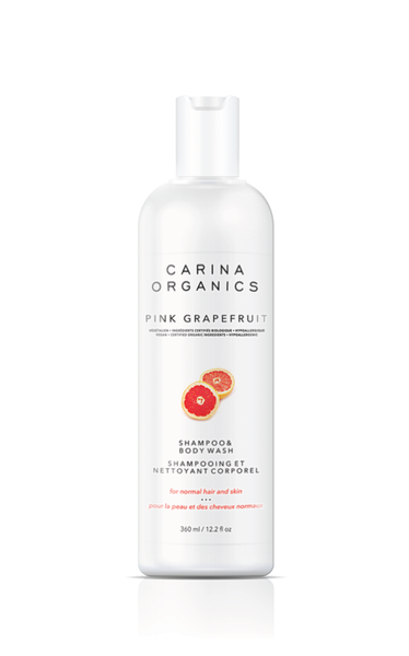 Pink Grapefruit Shampoo and Body Wash - Carina Organics