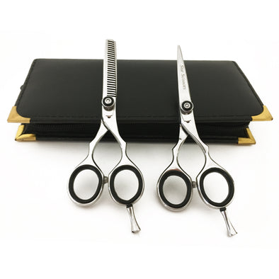 Professional Hair Cutting Scissors Set Hair Trimming Scissors Thinning Shears 5.0""