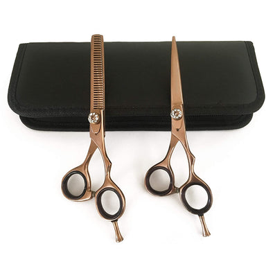 Hair Scissors Sharp Gold Cutting Thinning