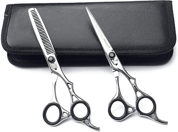 Professional Hairdressing Hair Cutting Salon Texturing Scissors Shears Thinning Set 6.0""