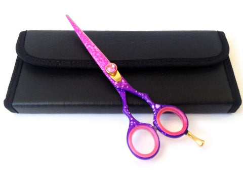 Pink Cosmetology Japanese Hair Cutting Salons Shears Tools