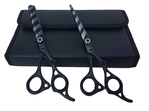 Professional Hairdressing Styling Scissors & Thinning Shears Set 6.0""