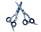 Professional Hair Cutting Shears Scissors Set with One Year Full Warranty