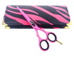Pink Hair Cutting Scissors Student Barbers Shears 5.0""