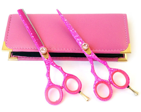 Hair Cutting Scissors & Thinning Shears Set 6.0""