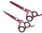 Professional Hairdressing Barber Salon Cutting Scissors Shears Razor Edged Japanese Steel 5.5""