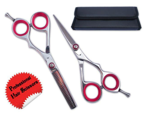 Professional Polish Finish Hair Cutting Scissors Set 5.5""
