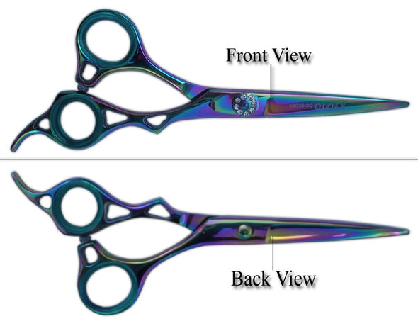 Scissors Shears for Professinal use & Stylish Tools for Salon Titanium 6.0