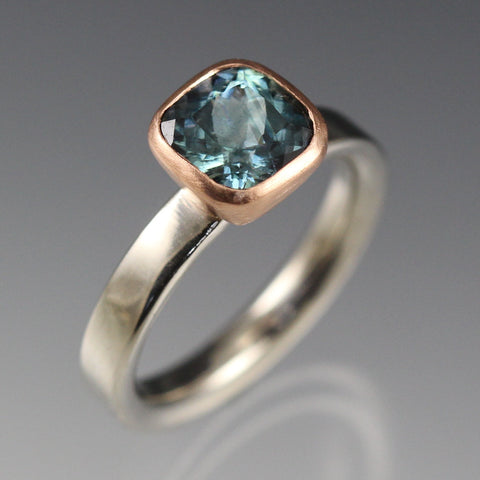 Montana Sapphire set in rose gold
