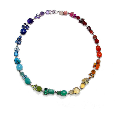 ROYGBIV Necklace made by Joanna Gollberg