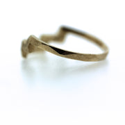 Geo Arch Facet Ring
