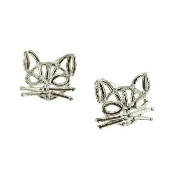 Mini Kitty Studs