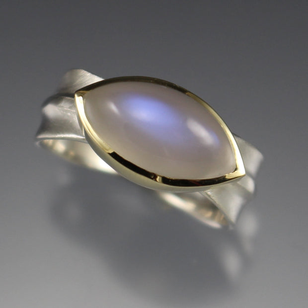 Moonstone Ridge Ring