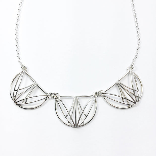 Tripple Openwork Collar Necklace