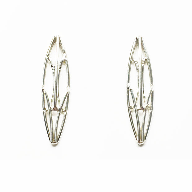 Small Marquise Openwork Studs