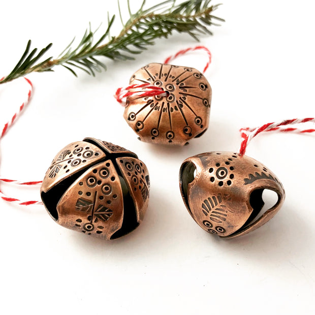 12/9/20 - Handmade Jingle Bells - MAKE + SIP CLASS