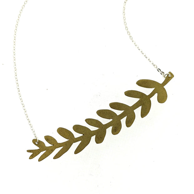 3/20/21 PM - Botanical Bar Necklace