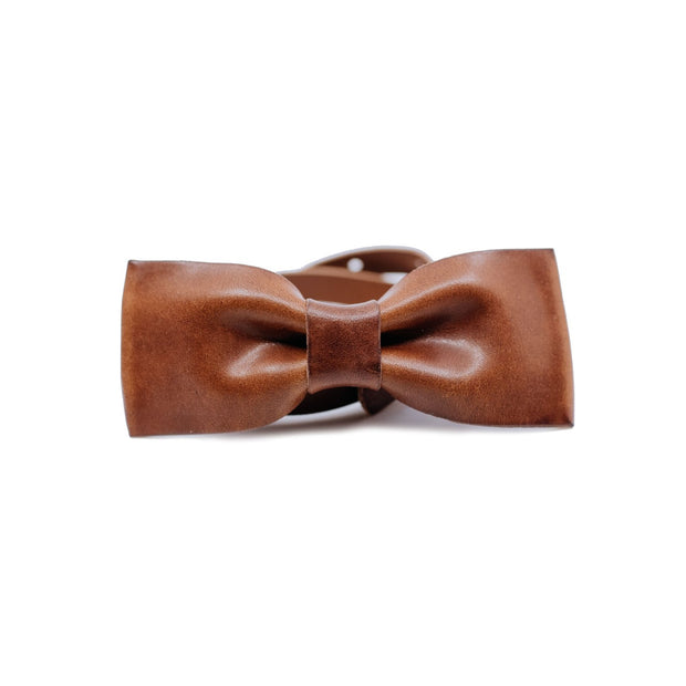 Gentlemen's Leather Bowtie