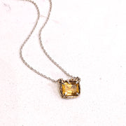 Dinah Necklace - Citrine