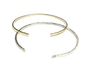 2/27/21 AM - Hammered Stack Bangles - MAKE + SIP CLASS