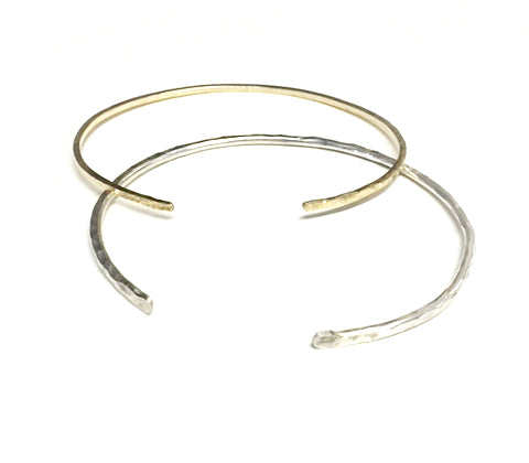 6/11/20 - Hammered Stack Bangles - MAKE + SIP CLASS