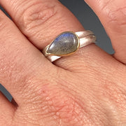 Labradorite Ridge Ring