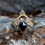 Arabella Ring Set - Black Kite Diamond