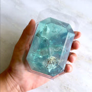 Birthstone Mineral Soap - March - Aquamarine