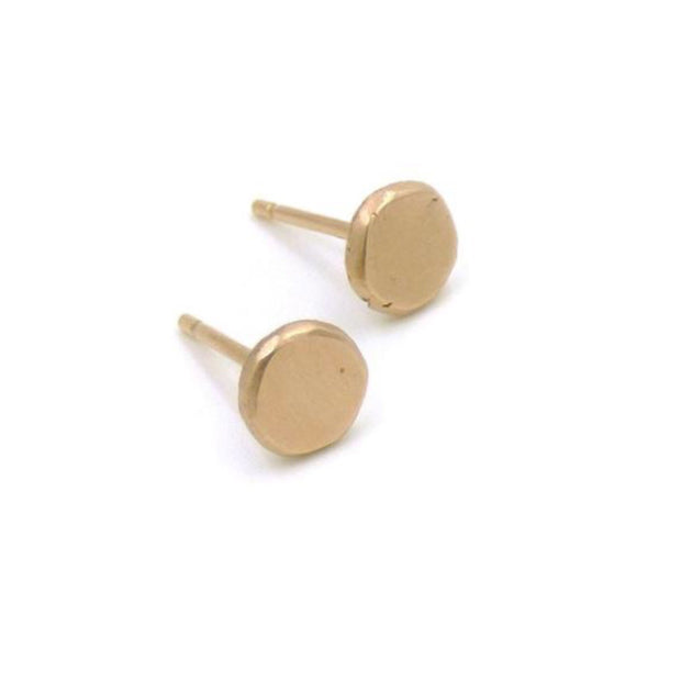 Serendipity Stud Earrings - 14k Gold