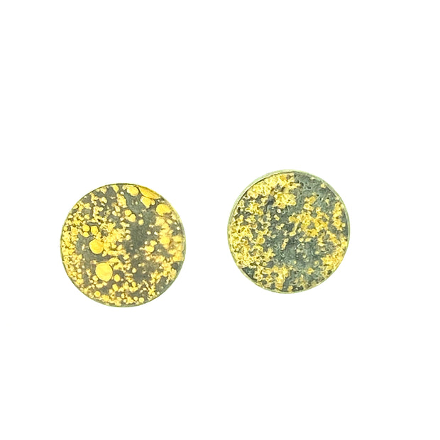 Lichen Moon Earrings